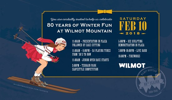 80 Iconic Years of Winter Fun at Wilmot Mountain