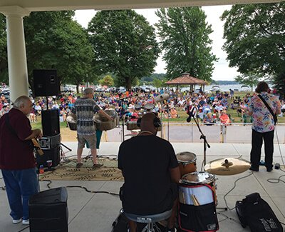 Concerts in the Park – Lake Geneva – SUMMER 2017