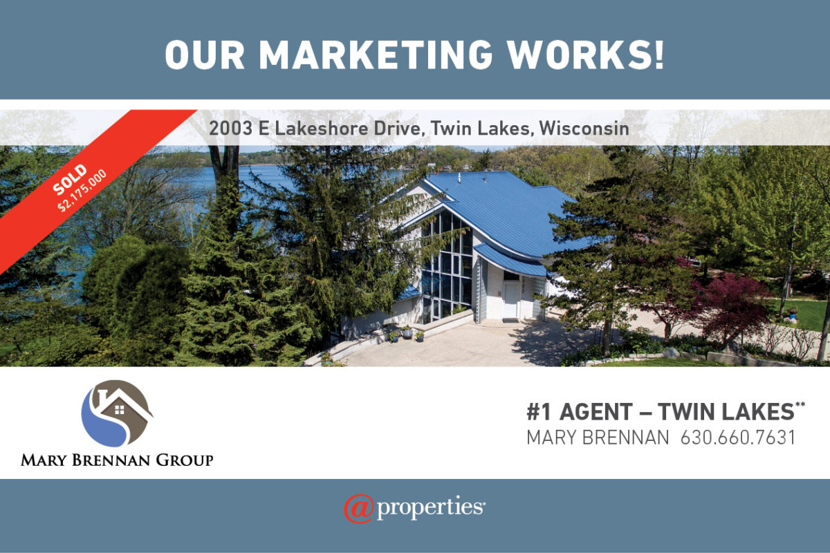 Mary Brennan & @properties have marketing that works!