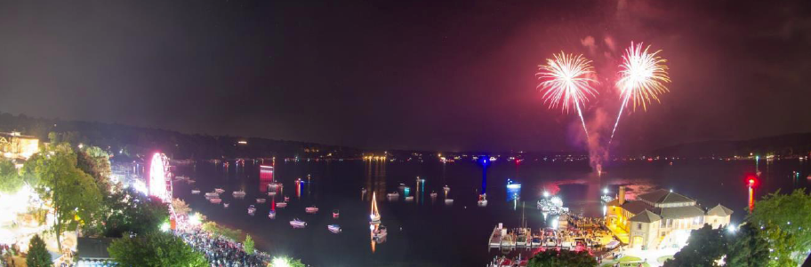 Venetian Festival, Lake Geneva August 16th – 20th